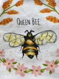 Kitchen Towel Dual Purpose Queen Bee