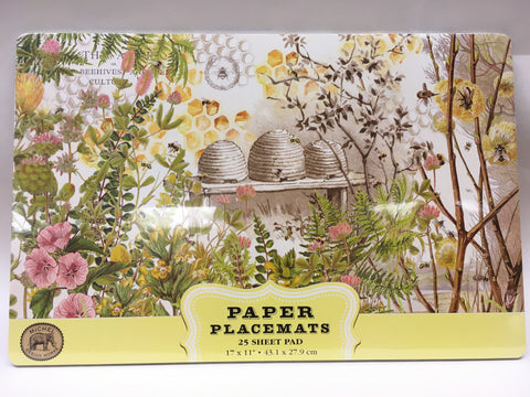Kitchen Paper Placemats Clover & Honey