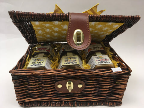 Gift Baskets Picnic Style Savory Pepper Jellies Mustards