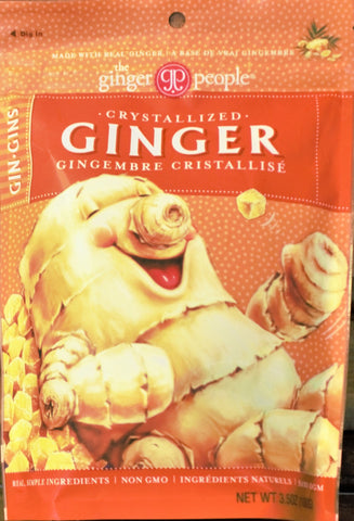 Crystallized Ginger Candy Bag (Fiji) 3.5oz