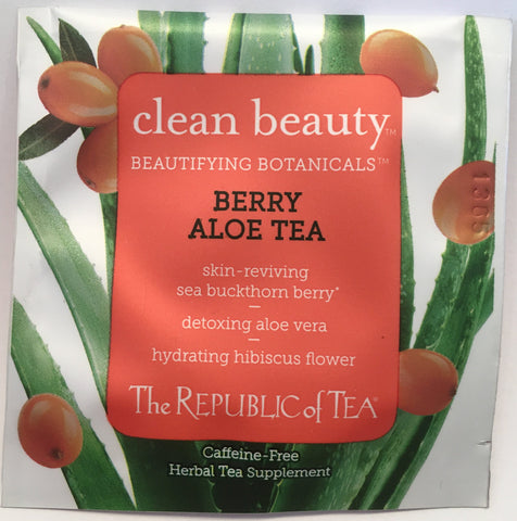 Tea Hibiscus Clean Beauty Individual Bag