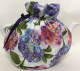 Tea Pot White Floral