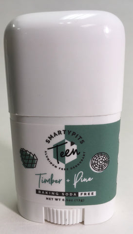 Teen Smartypits Timber & Pine Deodorant
