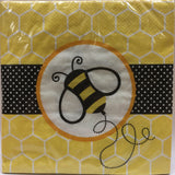 Bees Paper Plates Large