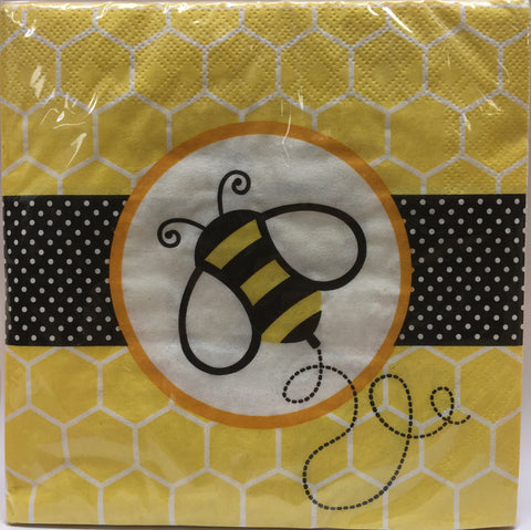 Bee Napkins Large