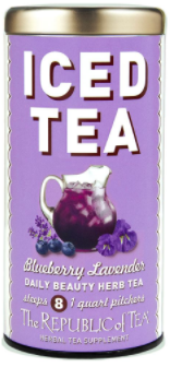 Tea Iced Blueberry Lavender