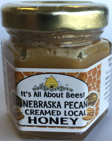 Creamed Honey Nebraska Pecan Mini