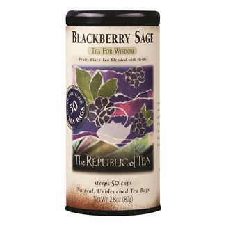 Tea Black Blackberry Sage