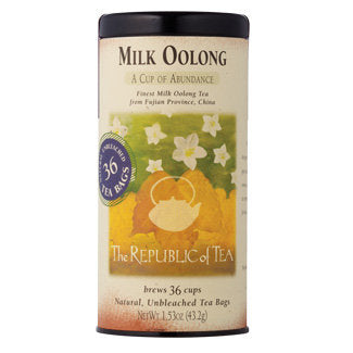 Tea Oolong Milk Bags