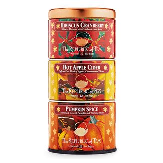 Harvest Holiday Stacakable Tin