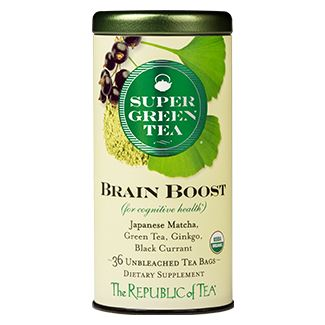 Super Green Brain Boost Tea