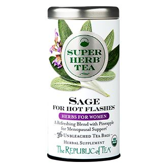 Organic Sage SuperHerb® Tea For Hot Flashes