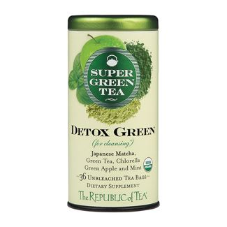 Organic Detox Green SupergGreen Tea Bags