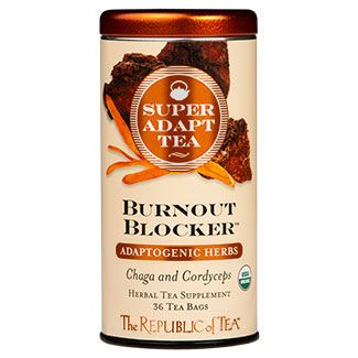 SuperAdapt Tea - Burnout Blocker, Chaga and Cordyceps