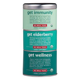Tea Stackable Trio Get Wellness - Immunity, Elderberry, Wellness Bags