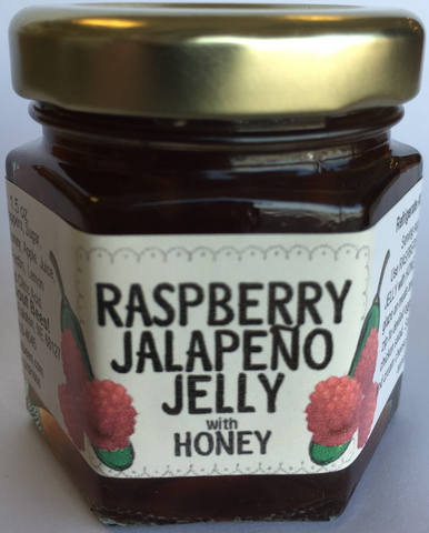 Mini Raspberry Jalapeno Jelly