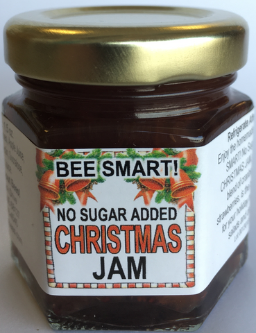 Mini No Sugar Added Christmas Jam