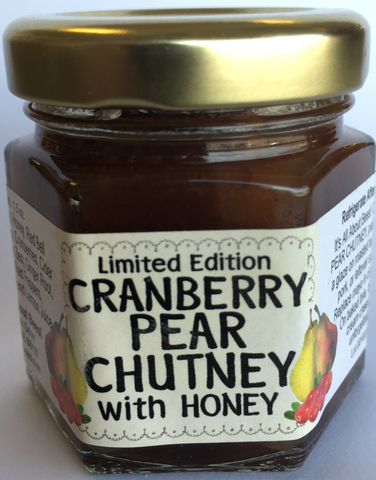 Mini Cranberry Pear Chutney 1.5 oz