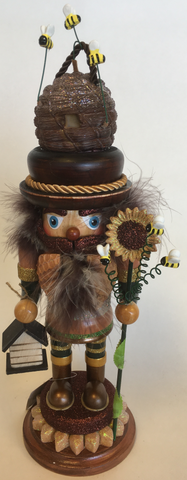 Ornament Beekeeper Nutcracker
