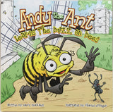 Children's Book Andy the Ant Learns the buzz on Bees