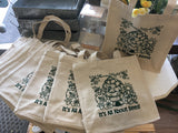 It's All About Bees! Farmer's Market Tote Bags