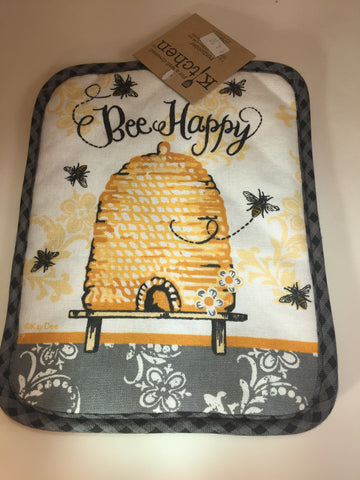 Bee Happy Pot Holder