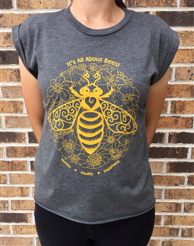 Honey Health Happiness Flowy Shirt