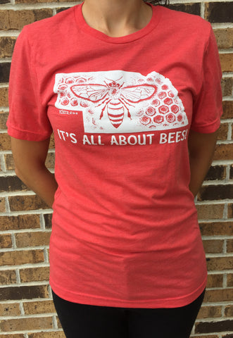 Apparel Nebraska Bee Unisex T-Shirt