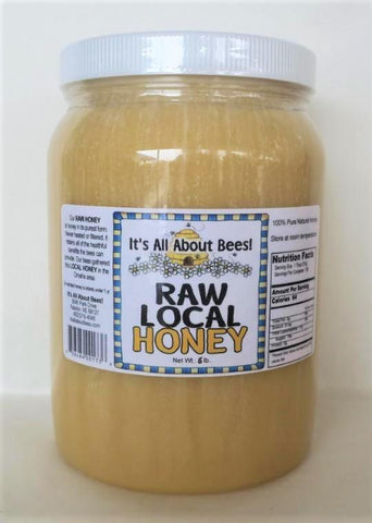 Honey Raw and Local 5 1/2 lb. Jar