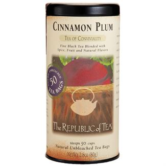 Tea Black Cinnamon Plum