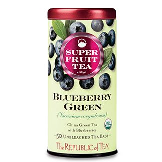 Organic Blueberry Green Tea