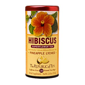 Pineapple Lychee Hibiscus Superflower Tea
