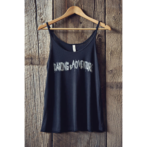 Edgy Boyfriend Tank Top |DARING ADVENTURE| - DARING Collection by Noelle Nieporte  - 2