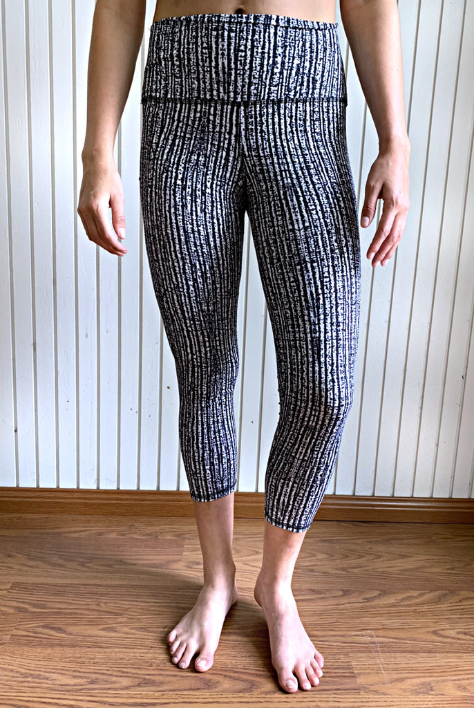 Echo High Waisted Crop Booty Lift Fitness Leggings | By SIGNED NOELLE