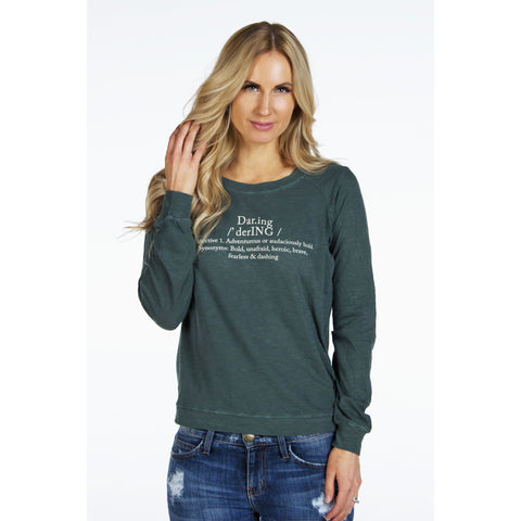 Flowy Long Sleeve Top |  Daring Definition | SIGNED NOELLE - DARING Collection by Noelle Nieporte  - 2