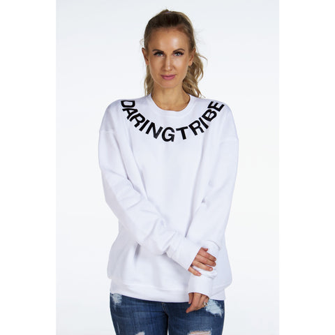 DARING TRIBE Sweatshirt | by Signed Noelle - DARING Collection by Noelle Nieporte  - 1