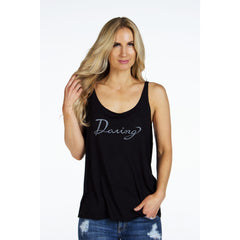 Slouchy Boyfriend Tank | DARING | - DARING Collection by Noelle Nieporte  - 1
