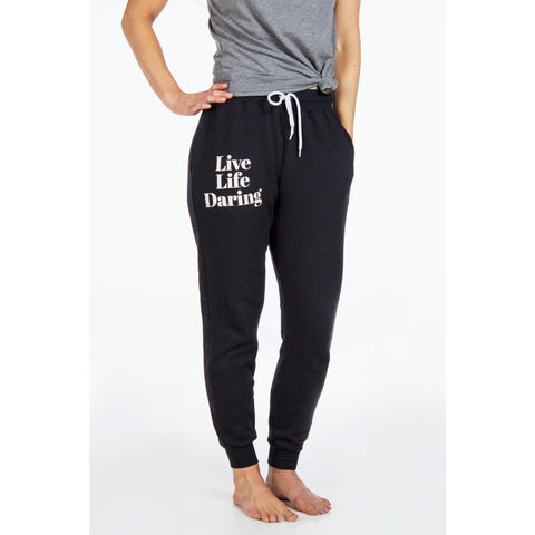 Jogger Sweat Pants | Live Life Daring | SIGNED NOELLE - DARING Collection by Noelle Nieporte  - 1