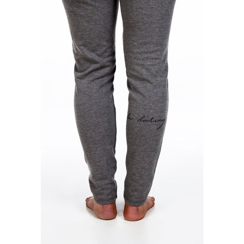Vintage Sport Fitted Sweat Pants | Be Daring | by SIGNED NOELLE - DARING Collection by Noelle Nieporte  - 1