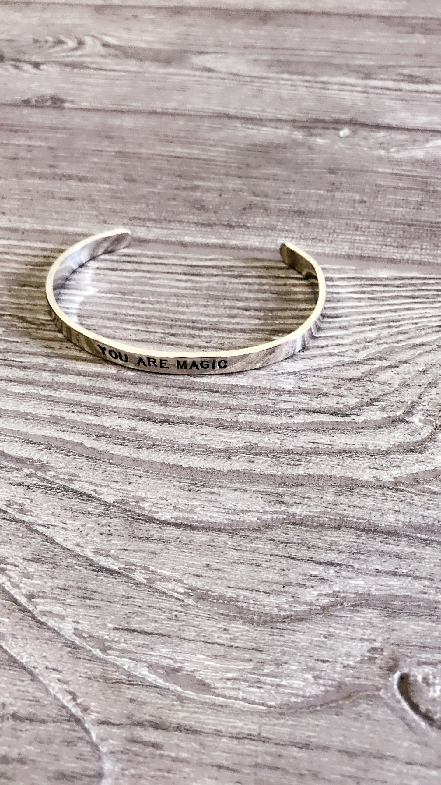 YOU ARE MAGIC | STACKABLE BRACELET | SIGNED NOELLE