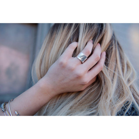 Daring Ring | by SIGNED NOELLE - DARING Collection by Noelle Nieporte  - 2