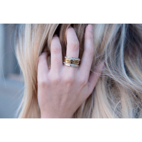 Spinner Ring | You Got This | SIGNED NOELLE - DARING Collection by Noelle Nieporte  - 2