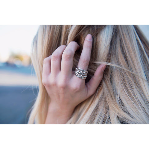 Stackable Rings | Live Life Daring | by SIGNED NOELLE - DARING Collection by Noelle Nieporte  - 1