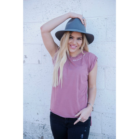 Flowy French Inspired Tee with Rolled Cuffs | SIGNED NOELLE | - DARING Collection by Noelle Nieporte  - 2