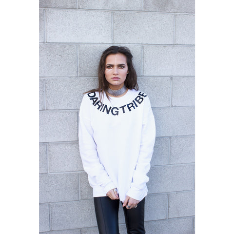 DARING TRIBE Sweatshirt | by Signed Noelle - DARING Collection by Noelle Nieporte  - 2