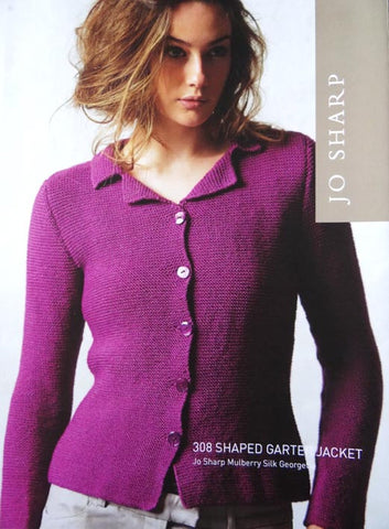 Jo Sharp Leaflet 308 - Shaped Garter Jacket