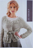 Jo Sharp Leaflet 29 - Twisted Drop Stitch Cardigan & Vest