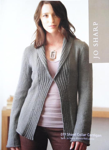 Jo Sharp Leaflet 019 - Shawl Collar Cardigan