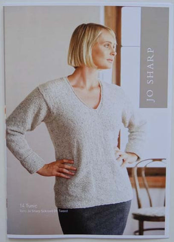 Jo Sharp Leaflet 14 - Tunic & Chequer Scarf