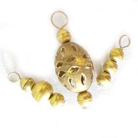 Golden Grace Stitch Marker